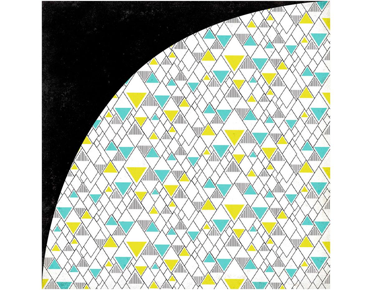 PSM-4820 Papel doble cara PRISM Pyramid Basic Grey
