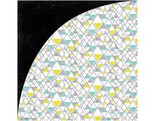 PSM-4820 Papel doble cara PRISM Pyramid Basic Grey - Ítem
