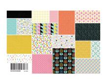 PSM-4828 Set 36 papeles surtidos PRISM Basic Grey - Ítem