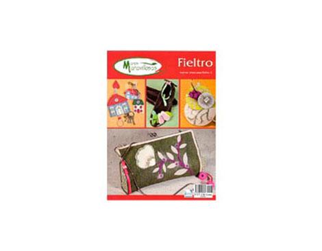 R108 Revista FIELTRO Nuevas ideas para Fieltro 2 Manos Maravillosas