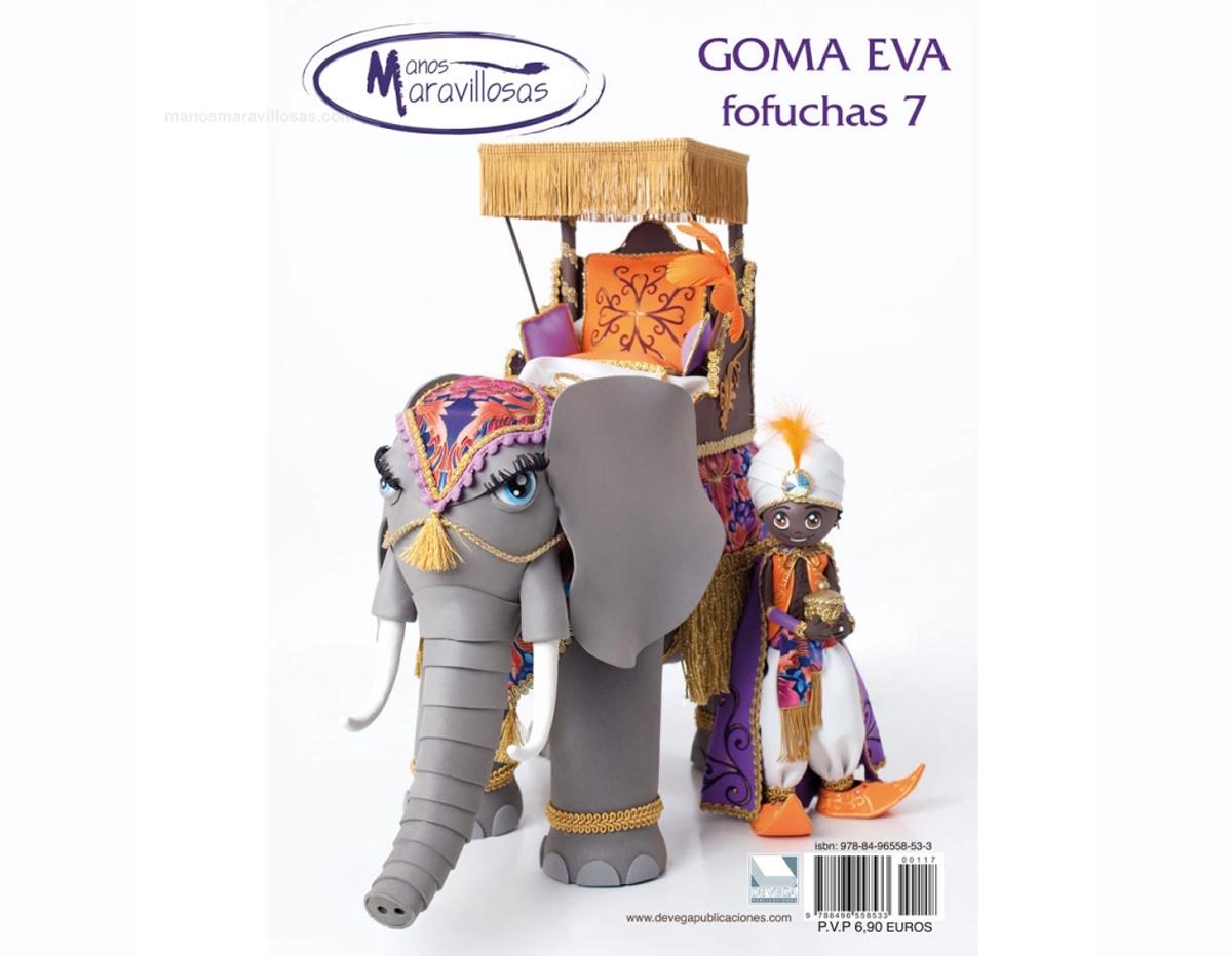 R117 Revista GOMA EVA Fofuchas 7 n 117 Manos Maravillosas