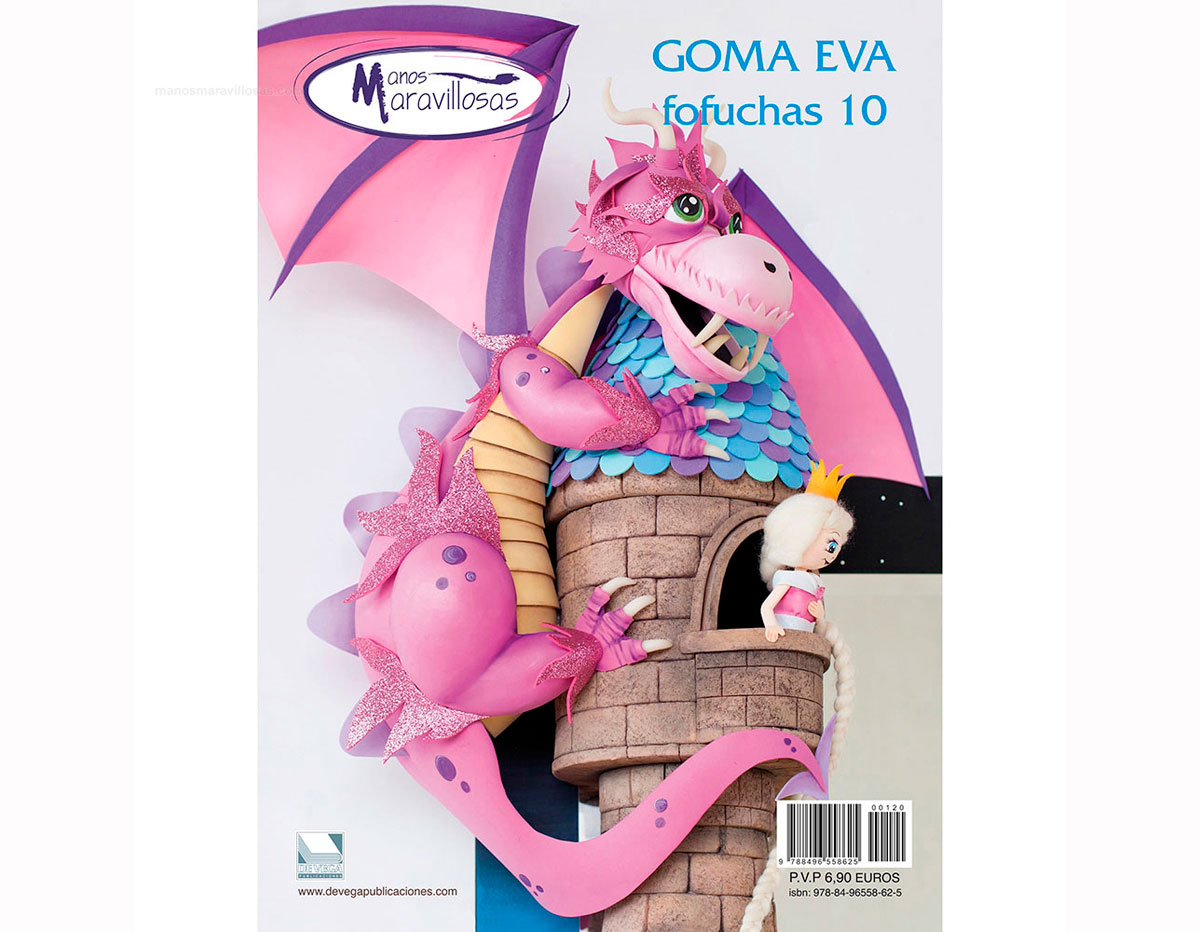 R120 Revista GOMA EVA Fofuchas 10 n120 Manos Maravillosas
