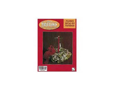 R14 Revista MANOS MARAVILLOSAS Flor seca Navidad Manos Maravillosas