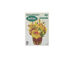 R39 Revista MANOS MARAVILLOSAS Flor prensadaa 36 pag Manos Maravillosas