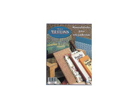 R64 Revista ENCUADERNACION Manualidades para encuadernar Manos Maravillosas