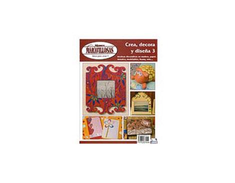 R98 Revista PINTURA DECORATIVA Crea decora y disena 3 Tecnica decoracion madera papel Manos Maravillosas