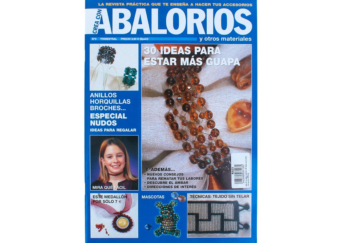 RA03 Revista ABALORIOS 30 ideas para estar mas guapa 66 pag Crea con abalorios