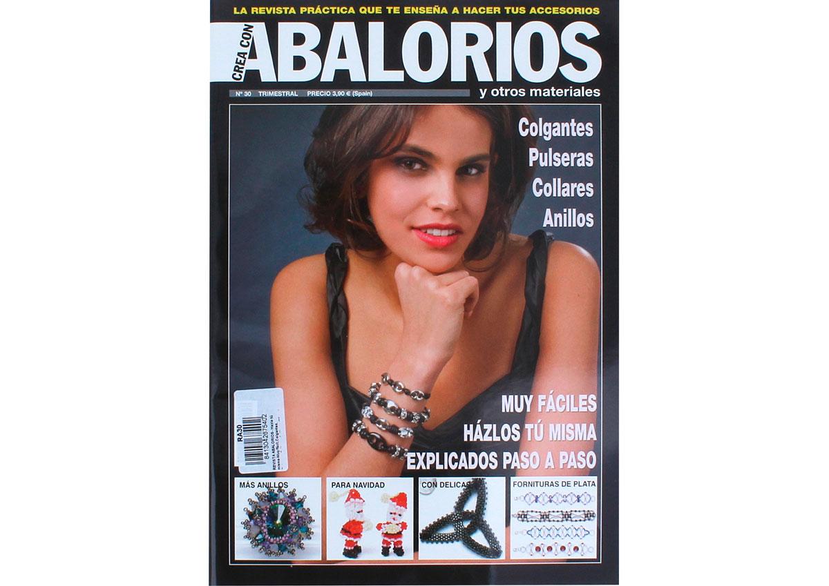 RA30 Revista ABALORIOS Hazlo tu misma Muy facil colgantes pulseras collares anillos 66 pag Crea con abalorios