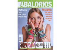 RA37 Revista CUENTAS Y ABALORIOS Pulseras con anillas con borlas brasilenas decenarios n37 Crea con abalorios