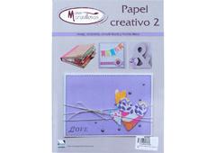 RC002 Revista PAPEL Y CARTON Papel Creativo n2 Manos Maravillosas
