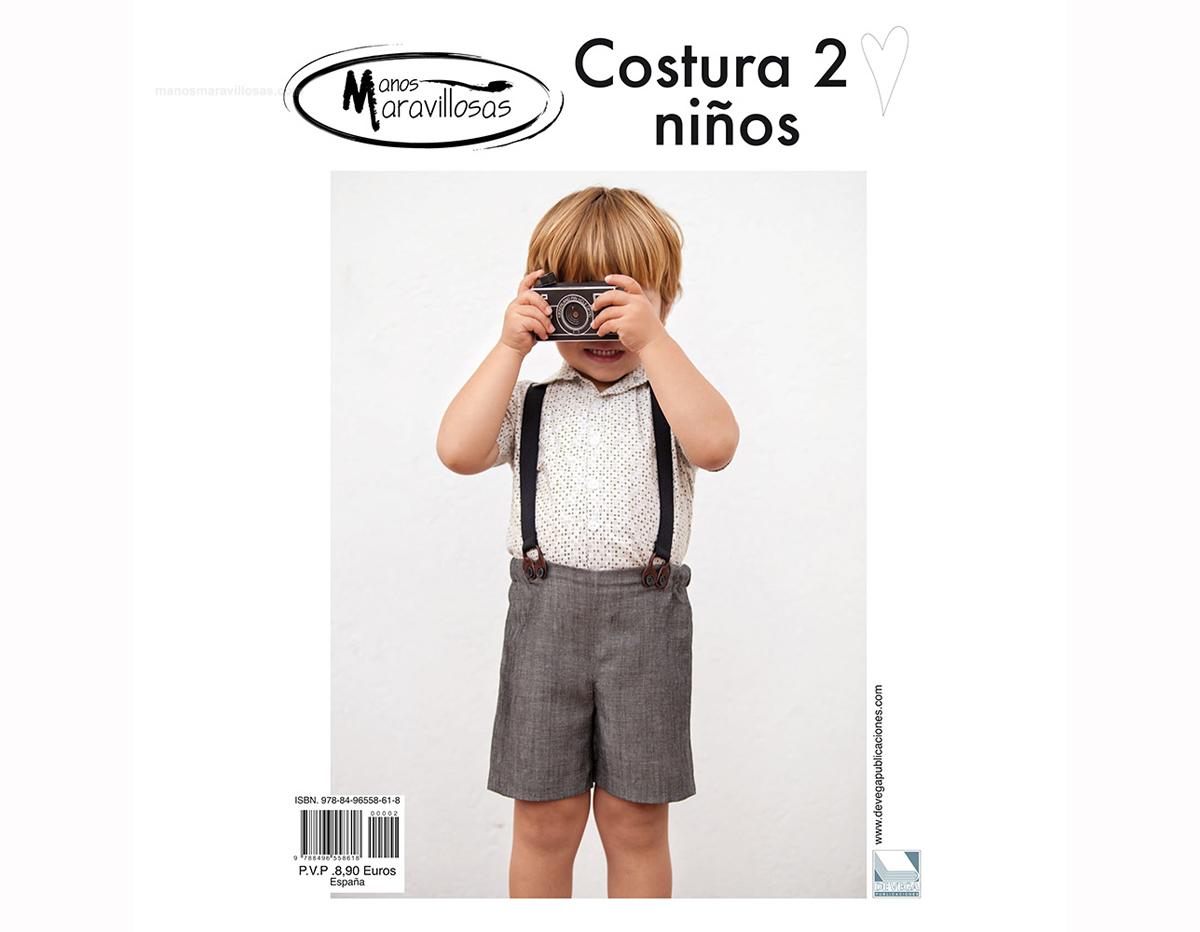 RCOS02 Revista COSTURA 2 Especial ninos Manos Maravillosas