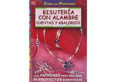 RD1008 Revista CUENTAS Y ABALORIOS Bisuteria con alambre cuentas y abalorios 32 pag El drac