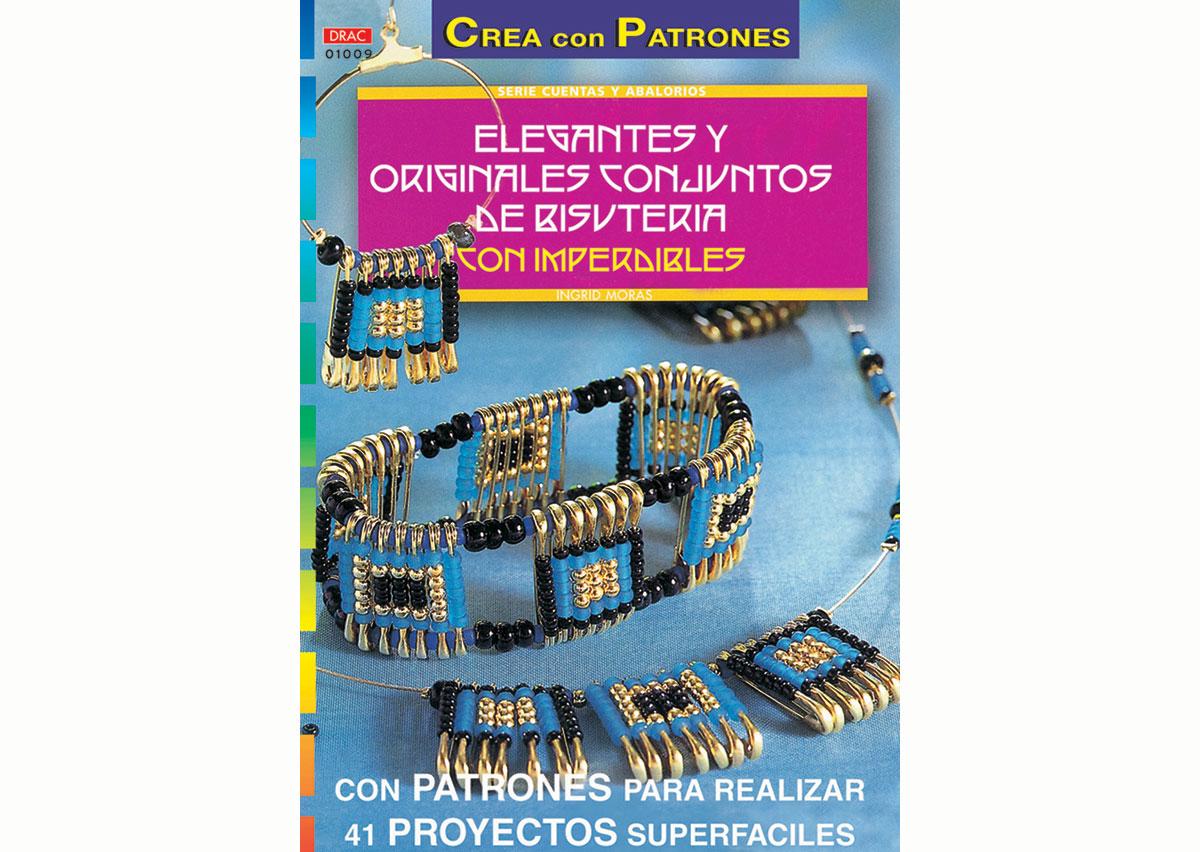 RD1009 Revista CUENTAS Y ABALORIOS Bisuteria con imperdibles 32 pag El drac