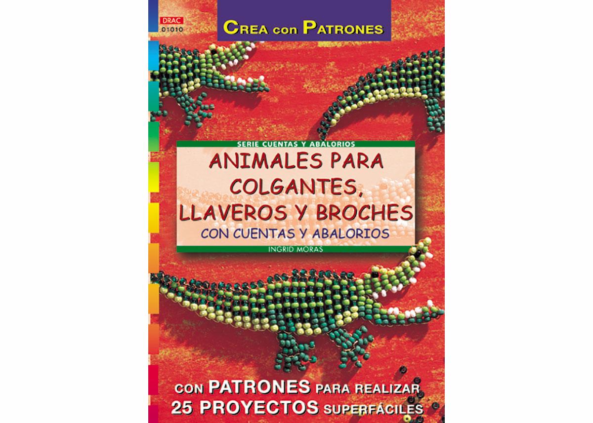 RD1010 Revista CUENTAS Y ABALORIOS Animales para colgantes llaveros y broches con cuentas y abalorios El drac