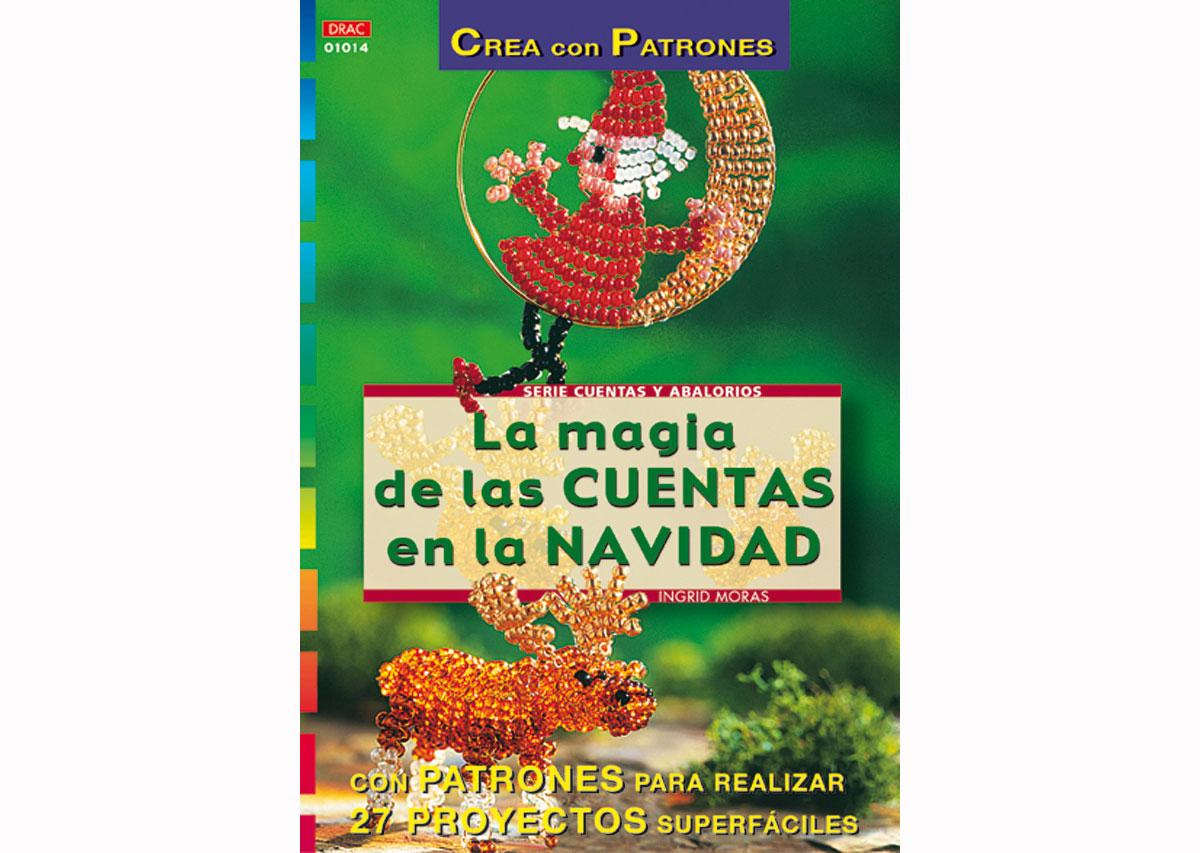 RD1014 Revista CUENTAS Y ABALORIOS La magia de las cuentas en la navidad 32 pag El drac