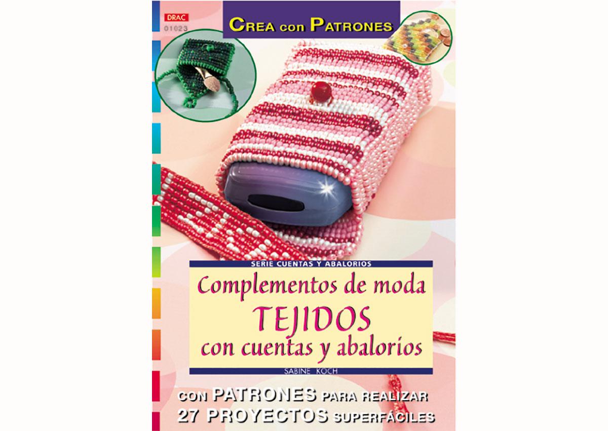 RD1023 Revista CUENTAS Y ABALORIOS Complementos de moda tejido con con cuentas y abalorios 32 pag El drac