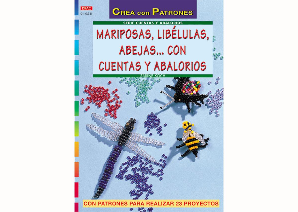 RD1028 Revista CUENTAS Y ABALORIOS Mariposas libelulas abejas cuentas 32 pag El drac