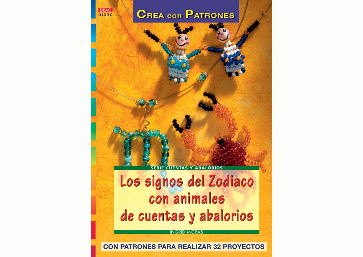 RD1030 Revista CUENTAS Y ABALORIOS Los signos Zodiaco con animales 32 pag El drac