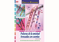 RD1043 Revista CUENTAS Y ABALORIOS Pulseras de la amistad trenzadas con cuentas El drac