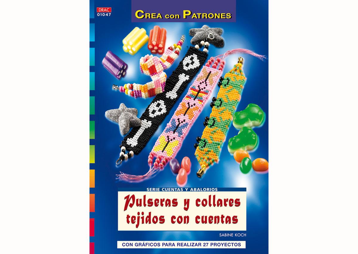 RD1047 Revista CUENTAS Y ABALORIOS Pulseras y collares tejidos con cuentas El drac