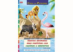 RD1049 Revista CUENTAS Y ABALORIOS Nuevos animals muy realistas con cuentas y abalorios El drac