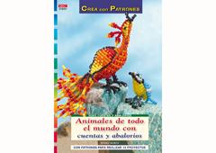 RD1051 Revista CUENTAS Y ABALORIOS Animales de todo el mundo con cuentas y abalorios El drac