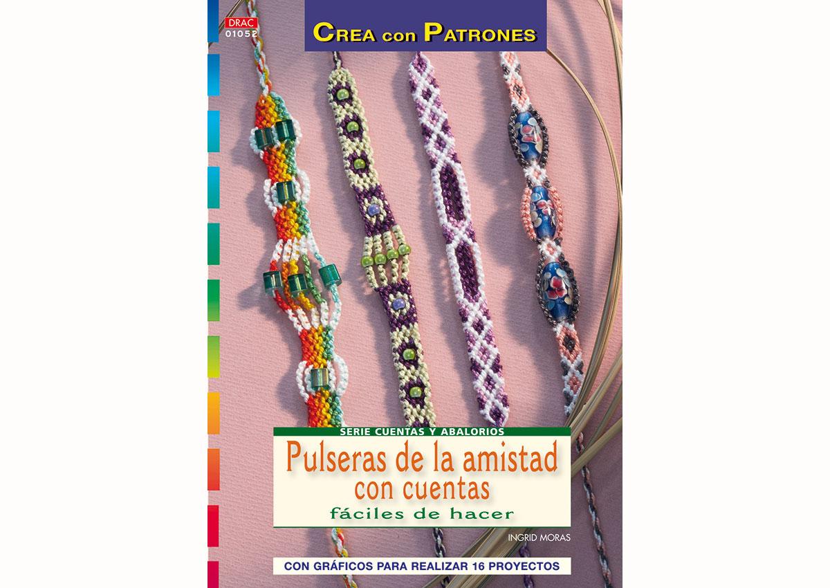 RD1052 Revista CUENTAS Y ABALORIOS Pulseras de la amistad con cuentas El drac
