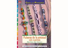 RD1052 Revista CUENTAS Y ABALORIOS Pulseras de la amistad con cuentas El drac - Ítem