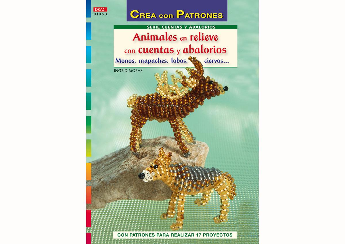 RD1053 Revista CUENTAS Y ABALORIOS Animales en relieve con cuentas y abalorios El drac
