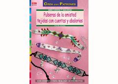RD1059 Revista CUENTAS Y ABALORIOS Pulseras de la amistad tejidas con cuentas y abalorios El drac