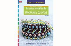 RD1060 Revista CUENTAS Y ABALORIOS Pulseras juveniles de macrame y cuentas El drac