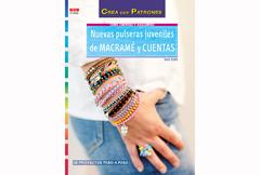 RD1062 Revista CUENTAS Y ABALORIOS Nuevas pulseras juveniles de macrame y cuentas El drac