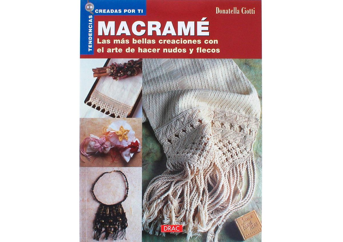 RD18007 Libro MACRAME Macrame El drac