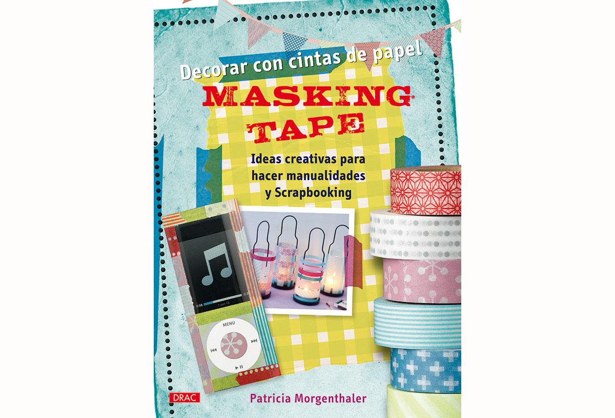 RD3253 Libro WASHI TAPE Masking tape Crear con cintas de papel El drac
