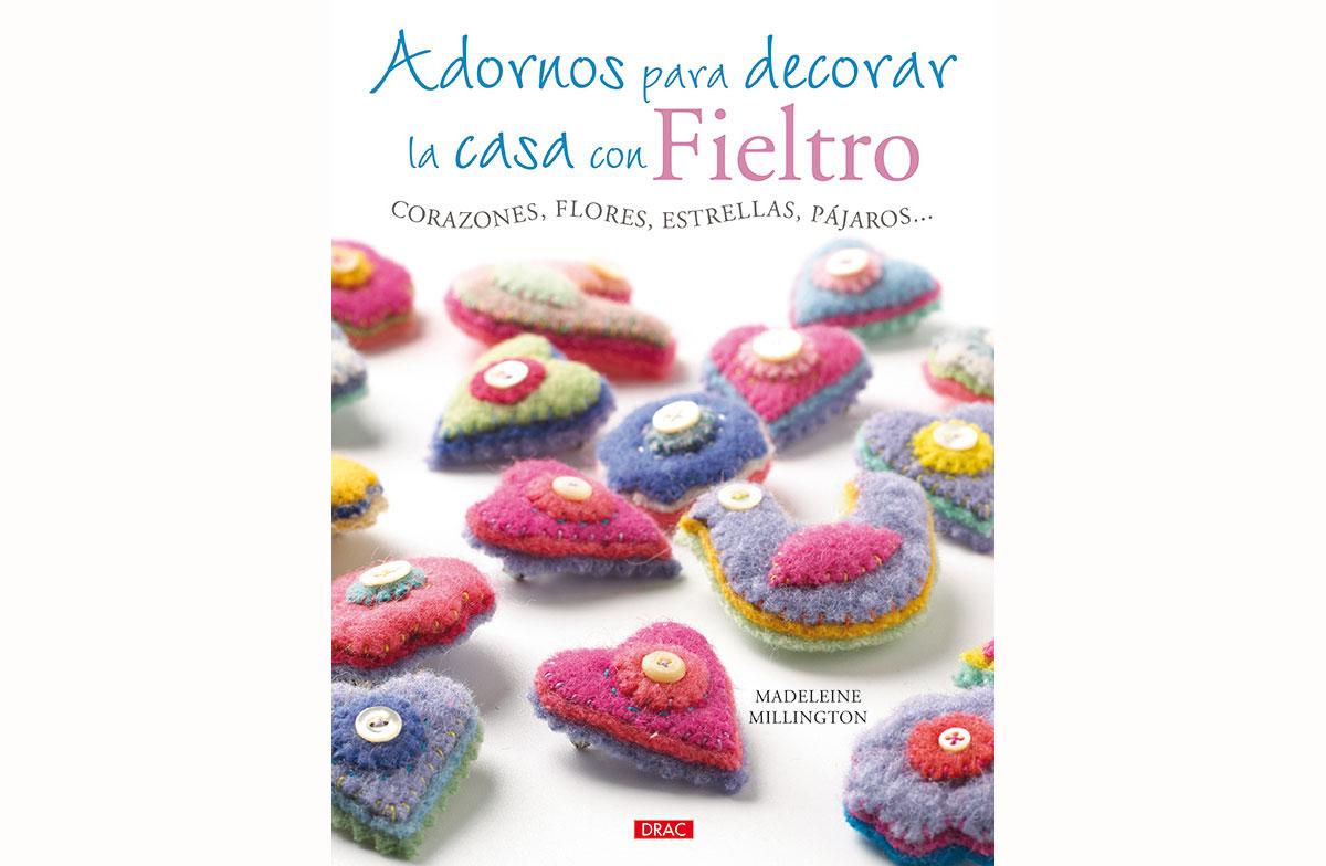RD3273 Libro FIELTRO Adornos para decorar la casa con fieltro El drac