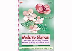 RD33012 Revista CUENTAS Y ABALORIOS Moderno glamour bisuteria con cuentas y botones de nacar perlas y cuentas de cristal El drac