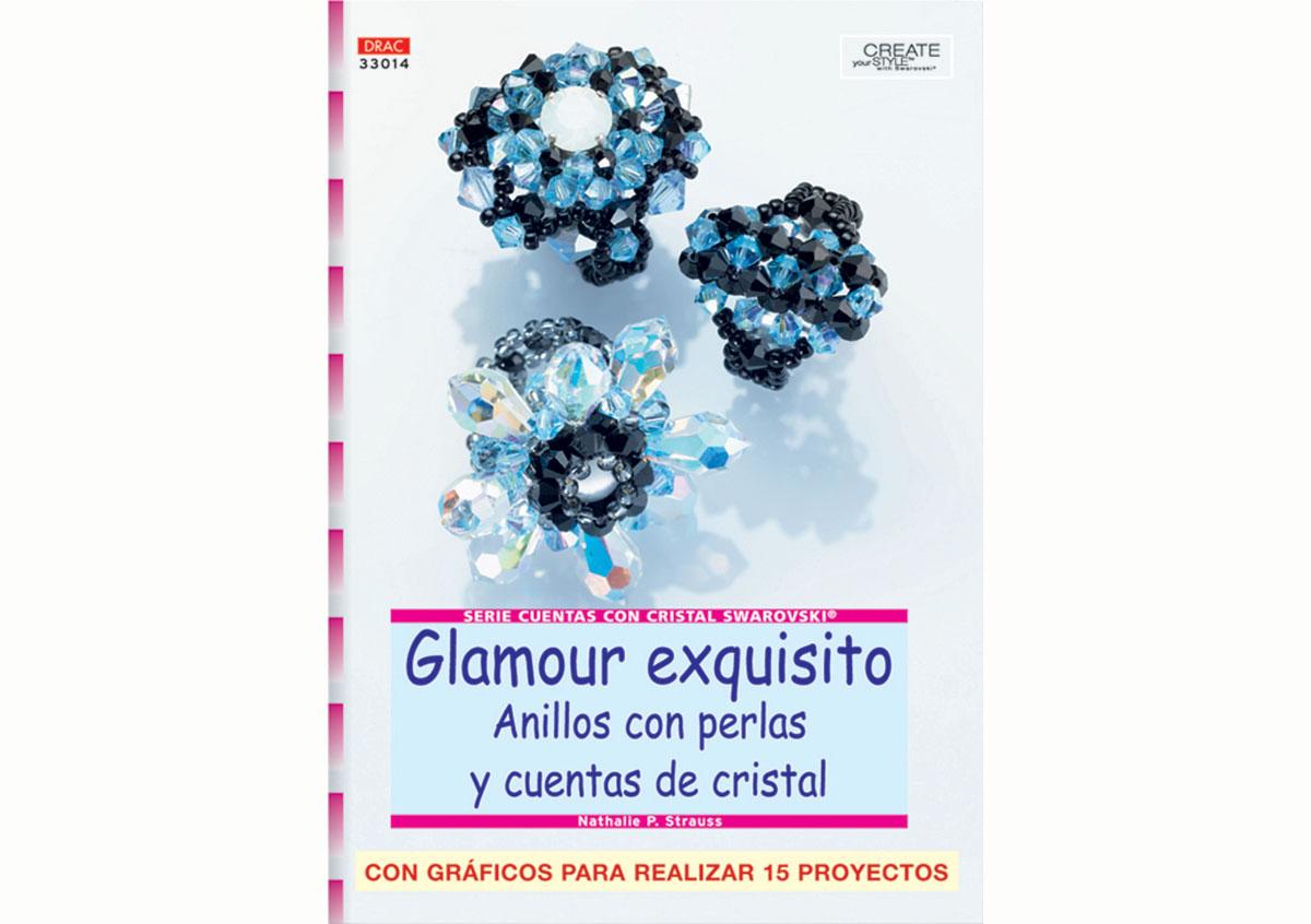 RD33014 Revista CUENTAS Y ABALORIOS Glamour exquisito anillos con perlas y cuentas de cristal El drac