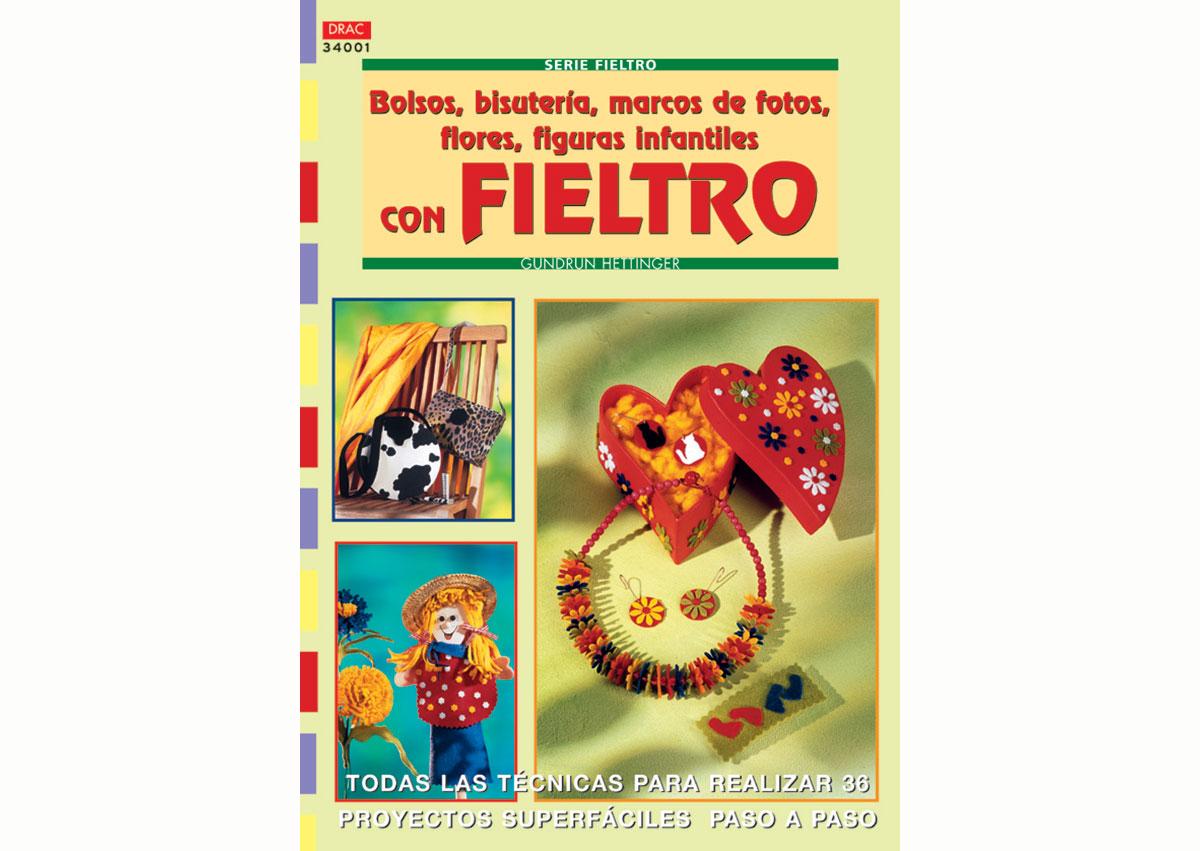 RD34001 Revista FIELTRO Bolsos bisuteria marcos de fotos con fieltro El drac