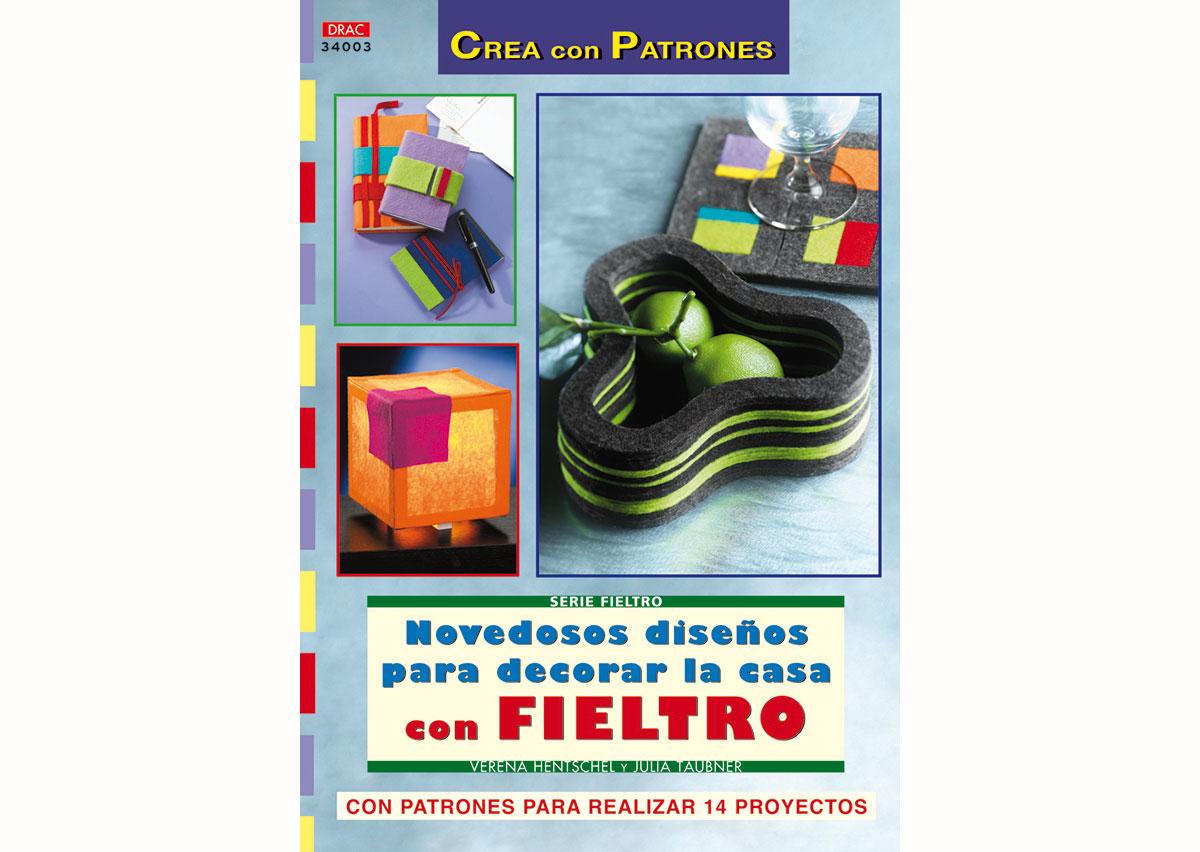 RD34003 Revista FIELTRO Novedosos disenos para decorar la casa con fieltro El drac
