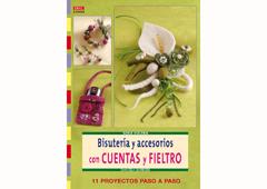 RD34005 Revista CUENTAS Y ABALORIOS Bisuteria y accesorios con cuentas y fieltro El drac
