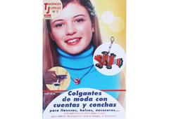 RD35003 Revista TENDENCIAS JUVENILES Colgantes de moda con cuentas y conchas 64 pag El drac