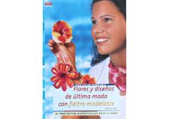 RD36005 Revista FIELTRO Flores y disenos de ultima moda con fieltro modelable El drac