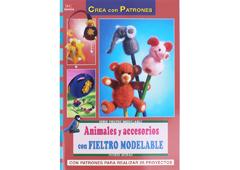 RD36006 Revista FIELTRO Animales y accesorios con fieltro modelable El drac