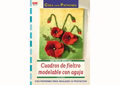 RD36010 Revista FIELTRO Cuadros de fieltro modelable con aguja El drac