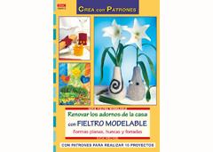 RD36013 Revista FIELTRO Renovar los adornos de la casa con fieltro modelable El drac