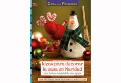 RD36015 Revista FIELTRO NAVIDAD Ideas para decorar la casa en Navidad con fieltro modelable con aguja El drac