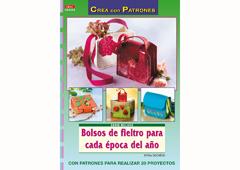 RD40004 Revista FIELTRO Bolsos de fieltro para cada epoca del ano El drac