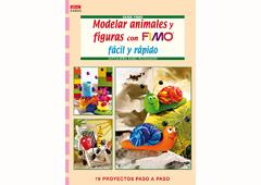 RD4033 Revista PASTA POLIMERICA Modelar animales y figuras con fimo facil y rapido El drac