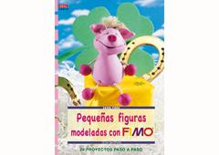 RD4034 Revista PASTA POLIMERICA Pequenas figuras modeladas con fimo El drac