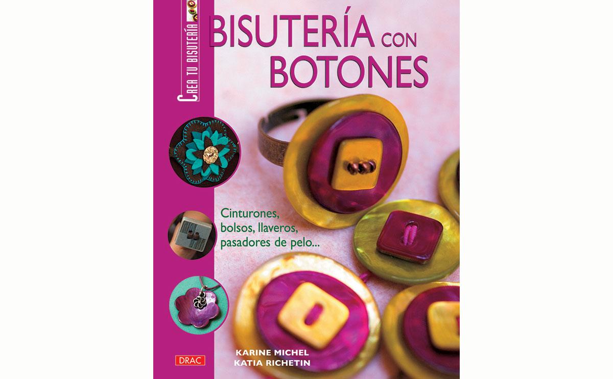 RD41002 Libro CUENTAS Y ABALORIOS Bisuteria con botones El drac